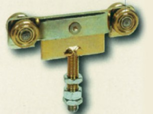 .R65 DOUBLE WHEEL HANGER WITH SCREW