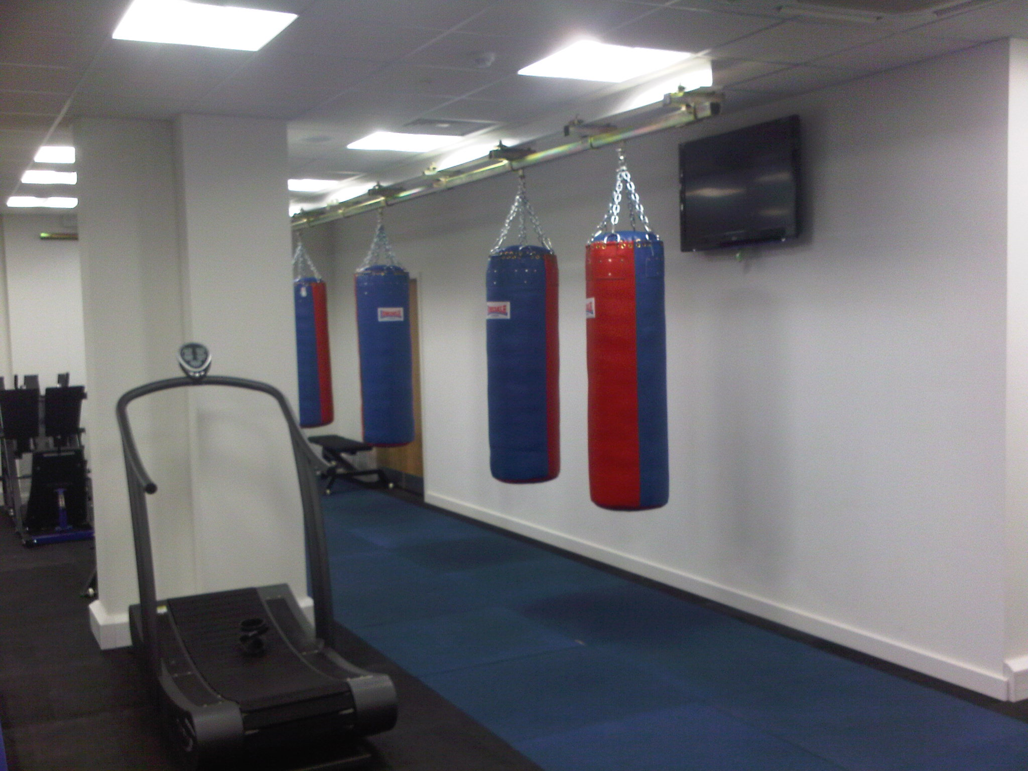 Sliding Punch Bag Track System