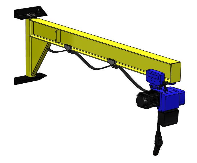 Jib Crane Usage : Niko jib crane