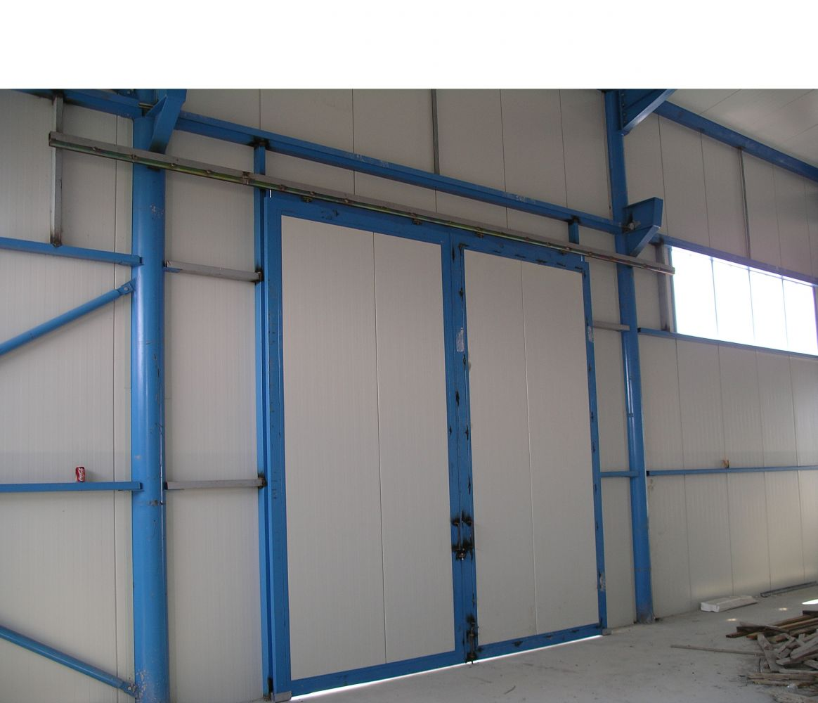 Industrial Metal Sliding Window : Niko b industrial sliding door track