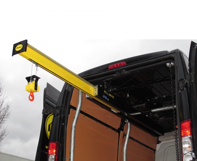 Mad Easyload Van Cranes And Lorry Cranes