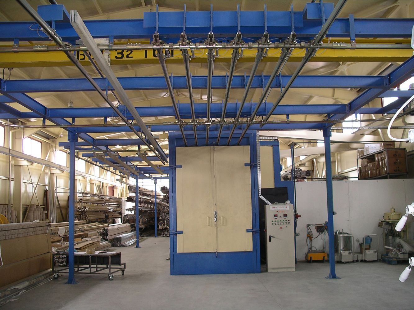 Manual Overhead Conveyor System