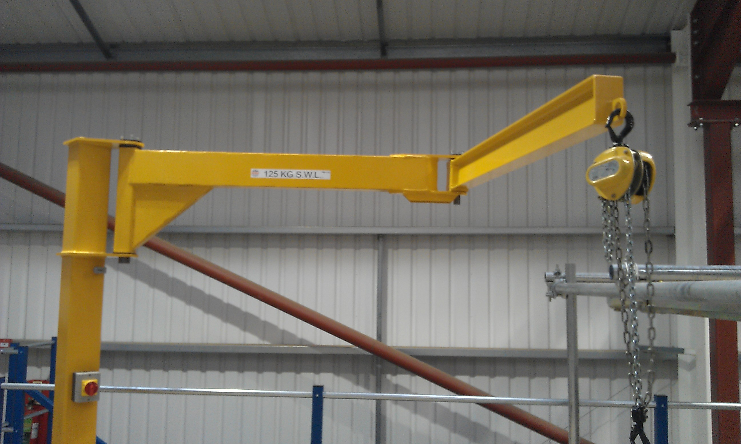 Articulating Arm Hoist : Types of jib cranes